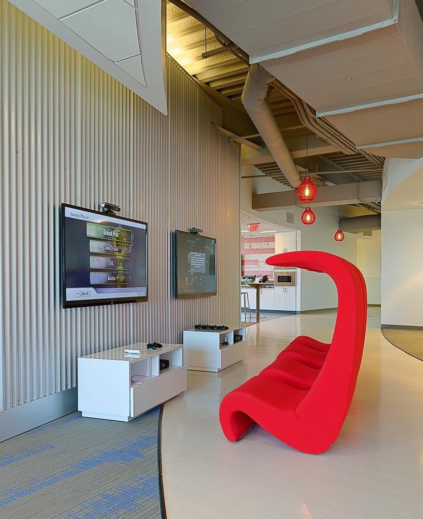 Innovative Workspace for Marketing Company