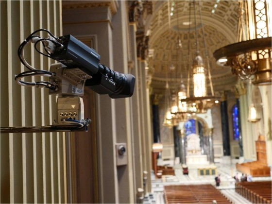 Cathedral Basilica Updated with Latest Technology for Pope's Visit